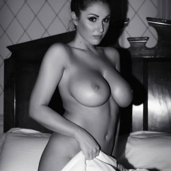 Lucy Pinder topless in Time For Bed