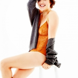 megan boone leggy shoot in esquire magazine