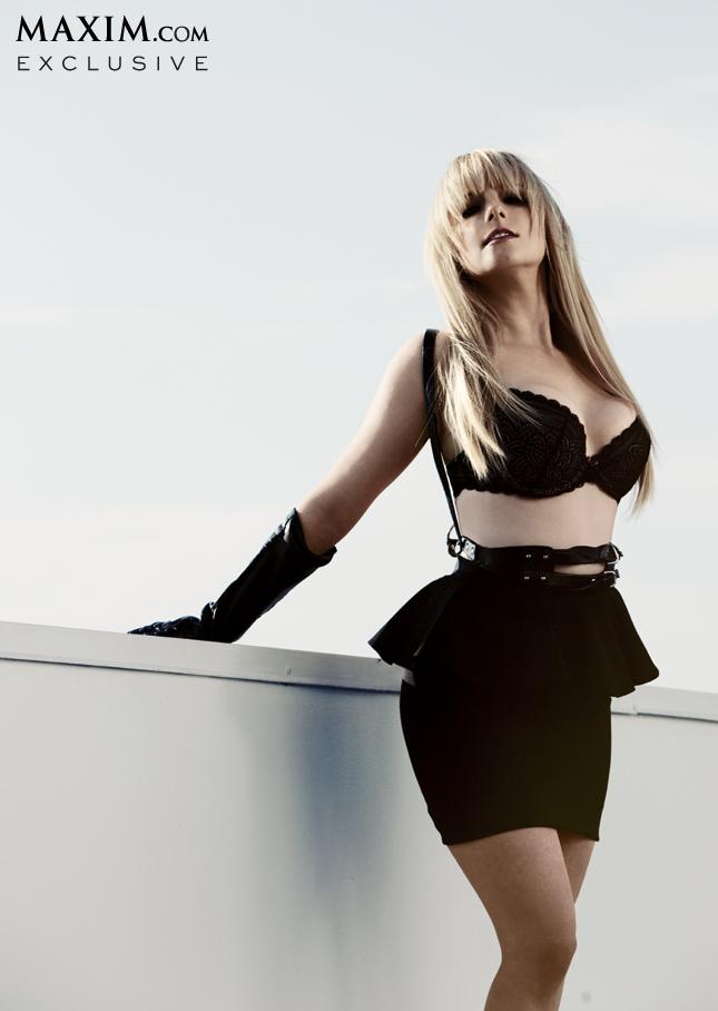 Melissa Rauch on Maxim Magazine