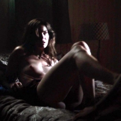 Michelle Monaghan Topless on Set