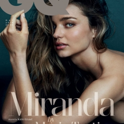 Miranda Kerr Covered Topless on GQ