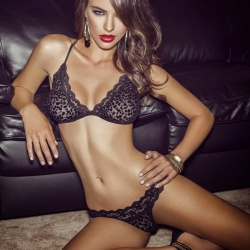 Nicole Meyer for Besame Lingerie 2013