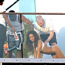 Rihanna Poses for a Nude Photo Shoot