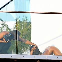 Rihanna Poses for a Nude Photo Shoot