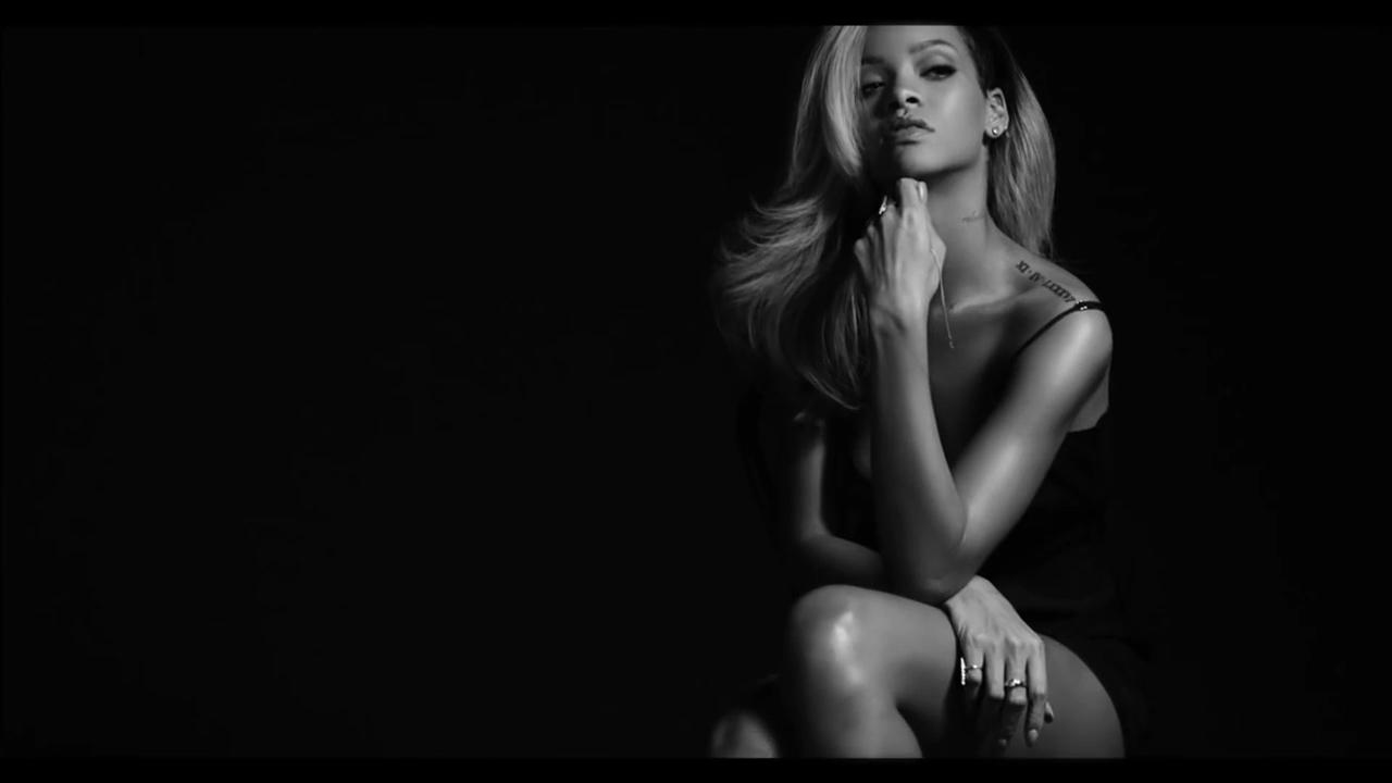 Opposite. Rihanna nude perfume ad