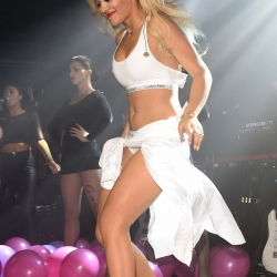 Rita Ora Strips at G-A-Y Nightclub