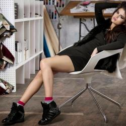 Selena Gomez Adidas neo winter 2013