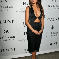 Selena Gomez flaunt magazine party