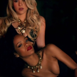 Shakira and Rihanna HOT butts