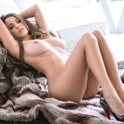 Shelby Chesnes Topless Playboy Photoshoot