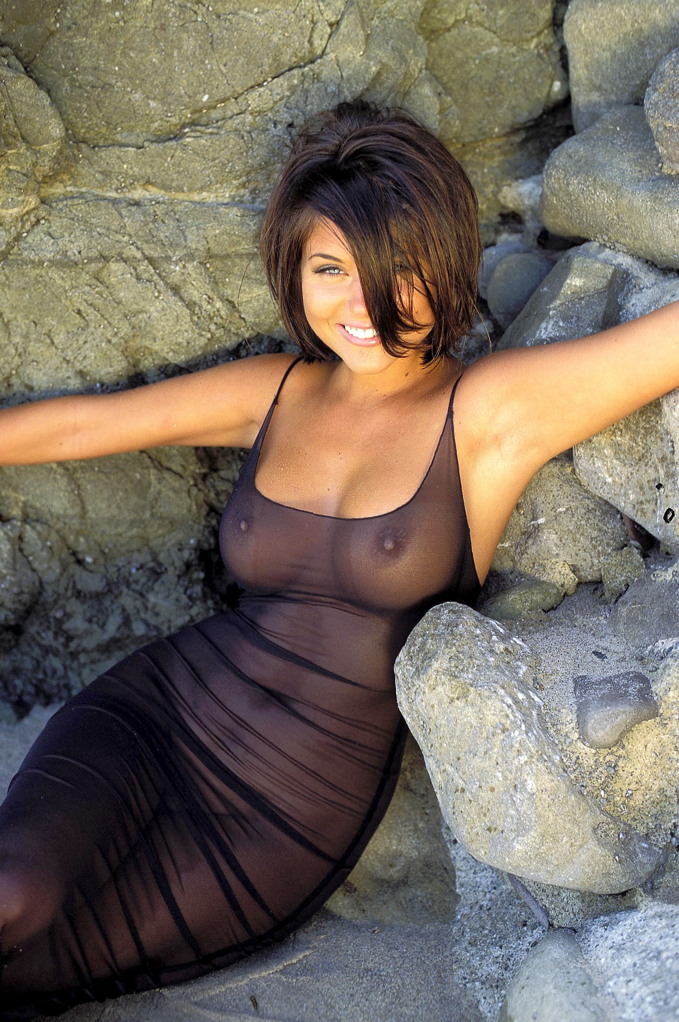 Tiffani thiessen see through