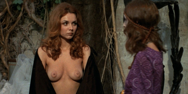 Sandra Julien in The Shiver of the Vampires