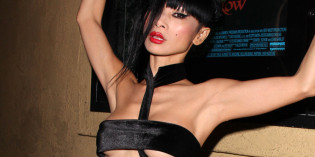 Bai Ling Flashing a Little Boob