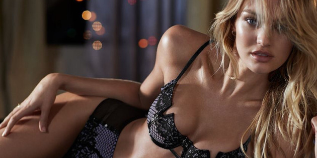 Candice Swanepoel Hot in Lingerie