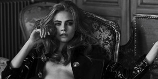 Cara Delevingne Topless Photoshoot