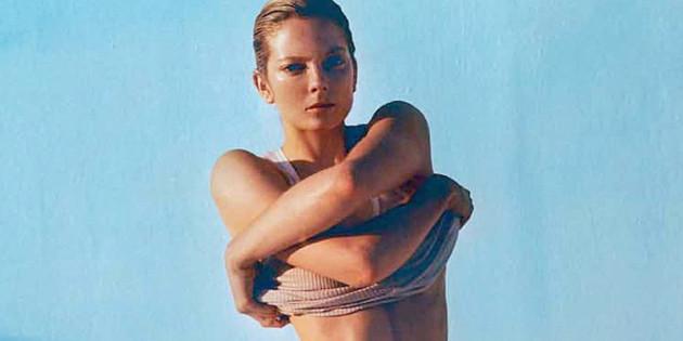Eniko Mihalik Oiled Up Topless