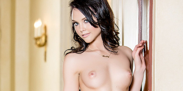Iana Little Topless For Playboy
