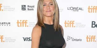 Jennifer Aniston Nipples See-Through