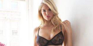 Kate Upton in lingerie for Jenna Leigh