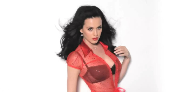 Katy Perry Behind the Scenes of GQ 2014