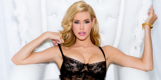 Kennedy Summers in Lingerie For Playboy