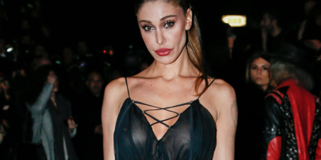 Belen Rodriguez see-through