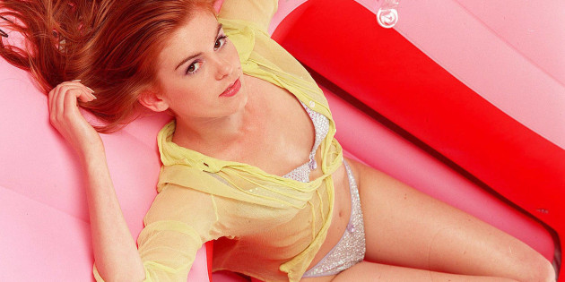 Isla Fisher Lingerie Shoot