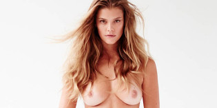 Nina Agdal uncensored for Frederic Pinet