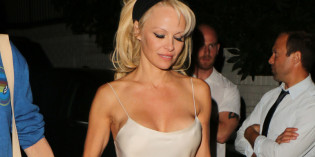 Pamela Anderson Wardrobe Malfunction