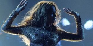 Beyonce Nipples Bodysuit Glitter for Belgrade Concert