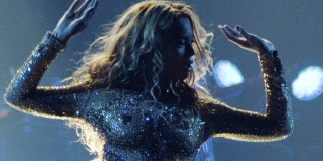 Beyonce Nipples Bodysuit Glitter for Belgrade Concert