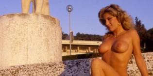 Moana Pozzi in 1985