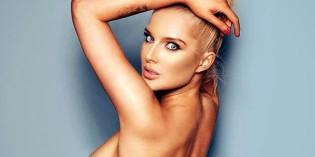 Helen Flanagan 2014 lingerie calendar