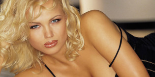 Irina Voronina topless on Playboy