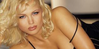 Irina Voronina topless on Playboy