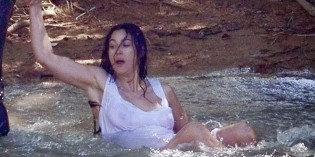 "Monica Bellucci see through on ""On the Milky Road"""