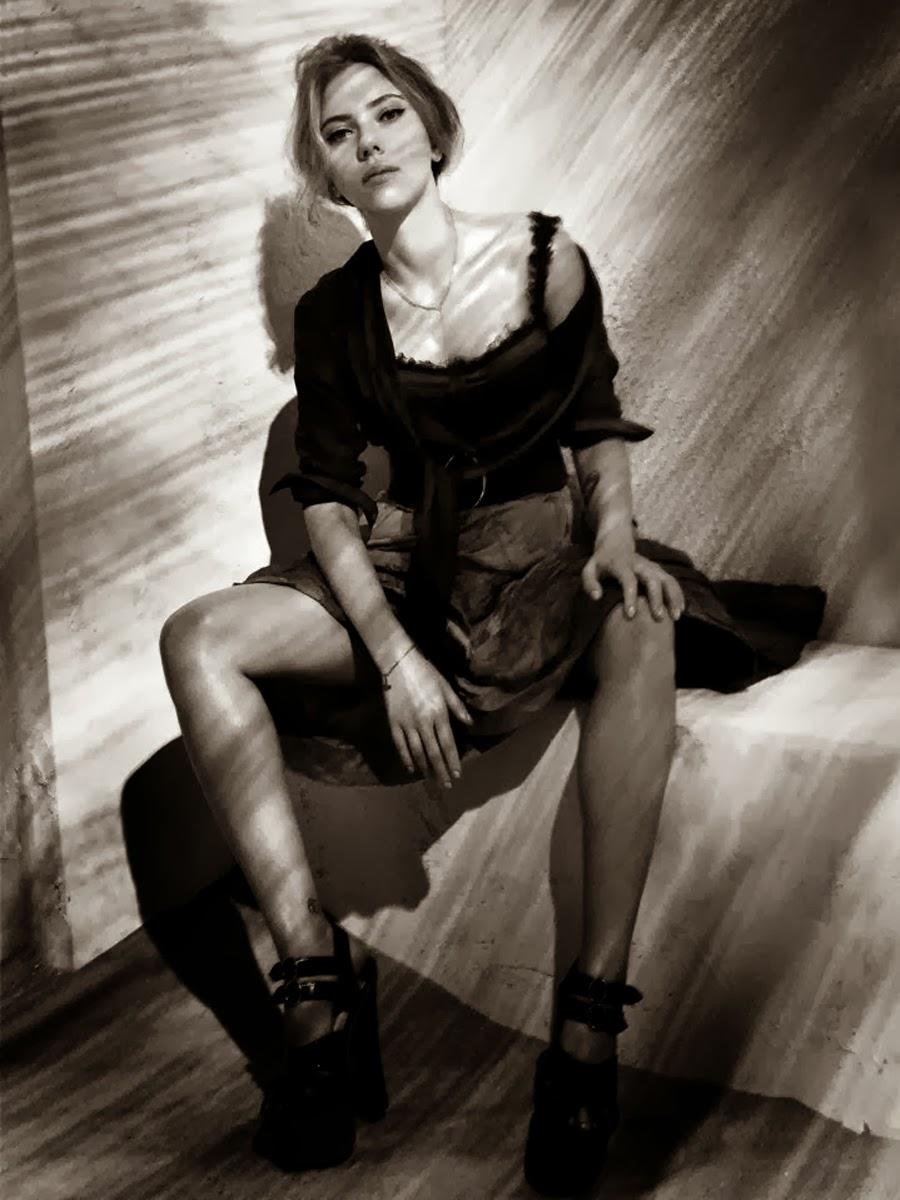 Scarlett Johansson on ... Scarlett Johansson